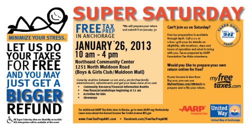 Super Saturday - January 26