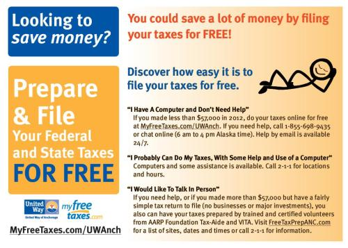 All you need to know about filing your taxes for free - on your own.