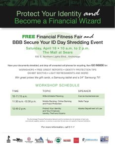 Financial Wizard Flier