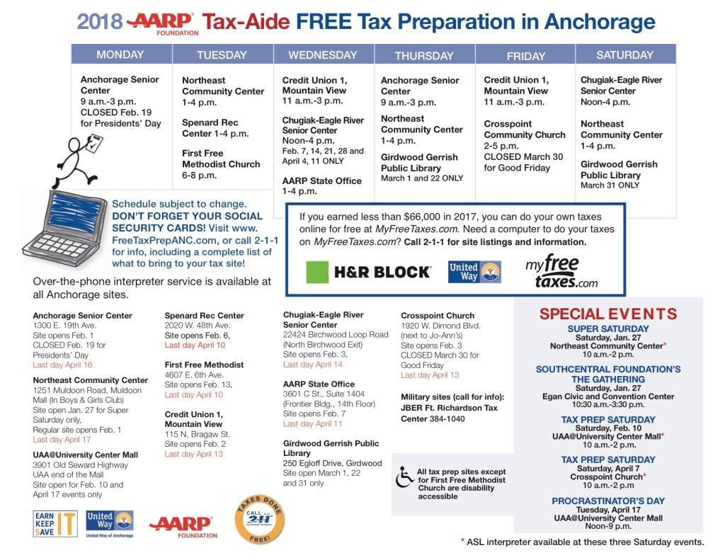 Tax Prep Calendar