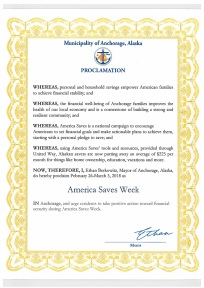 2018 America Saves Week_AK Saves Mayor Proclamation copy